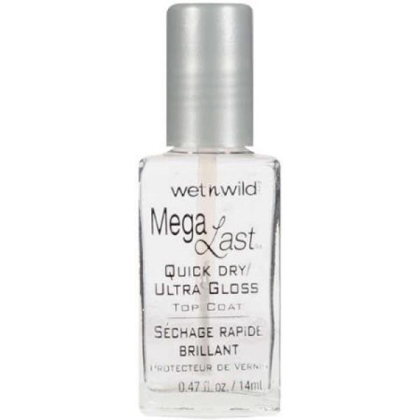 Wet n Wild Mega Last Quick Dry Ultra Gloss Top Coat - 202