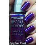 Wet n Wild - Wild Shine Nail Polish - 417F Eggplant Frost