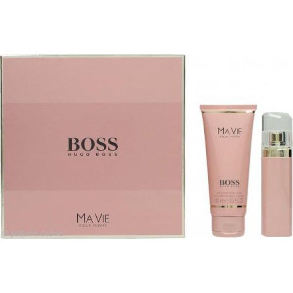 Boss Ma Vie 75ml EDP Spray / 100ml Body Lotion