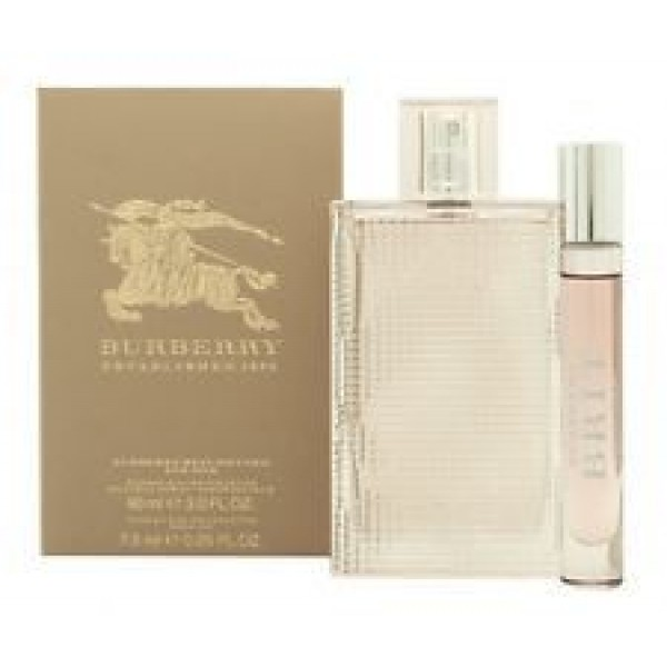 Burberry Brit Rhythm Women 90ml EDT Spray / 7.5ml EDT Roll On Pen