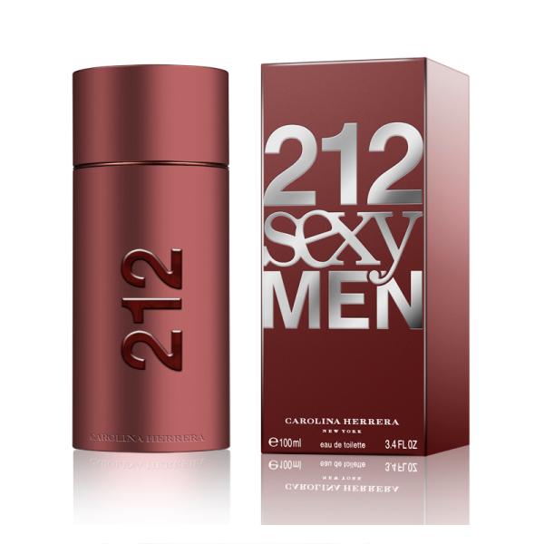 Carolina Herrera 212 Sexy Men 100ml EDT Spray