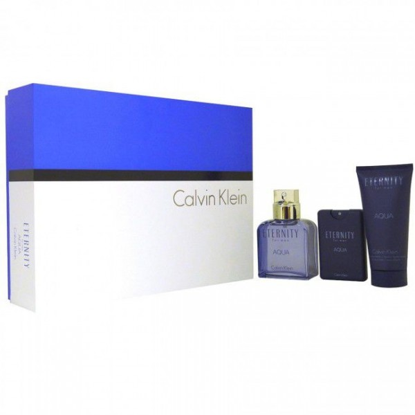 Eternity for Men 100ml EDT Spray / 20ml EDT / 100ml Aftershave Balm / 100ml Hair and Body Wash