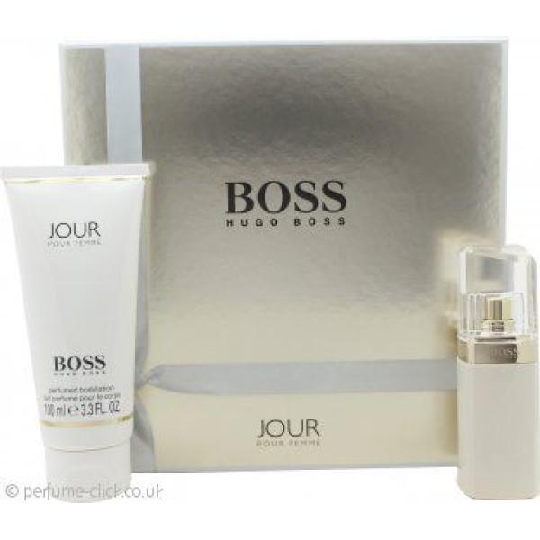 Hugo Boss Jour Pour Femme 75ml EDP Spray / 200ml Body Lotion