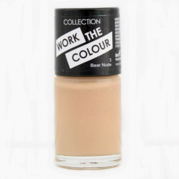Collection Work The Colour Nail Polish  - 3 Bear Nude