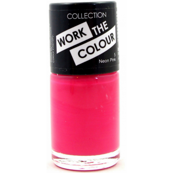 Collection Work The Colour Nail Polish  - 1 In The Pink