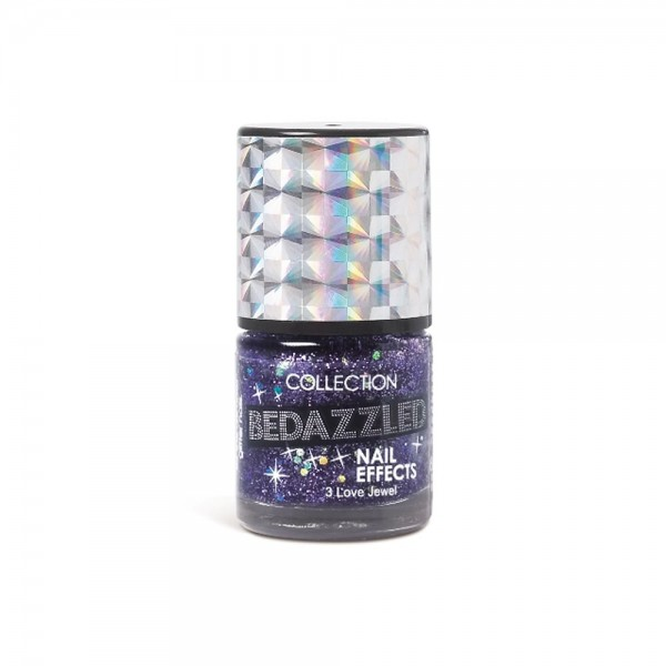 Collection Bedazzled Nail Effects Polish - 3 Love Jewel