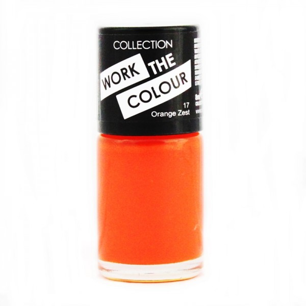 Collection Work The Colour Nail Polish  - 17 Orange Zest