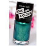 Collection Work The Colour Nail Polish  - 10 Peacock Green