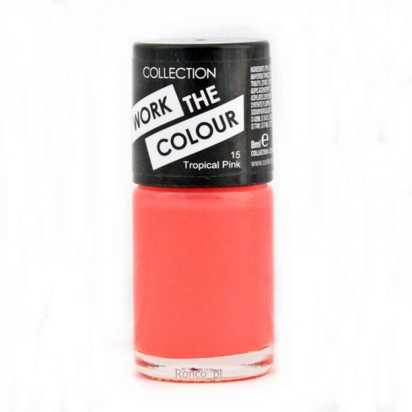 Collection Work The Colour Nail Polish  - 15 Tropical Pink