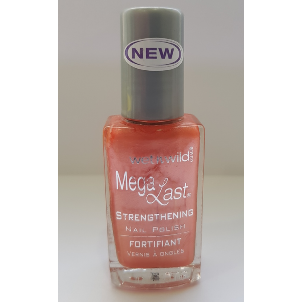 Wet n Wild Mega Last Strengthening Nail Polish - 206A Puppy Love