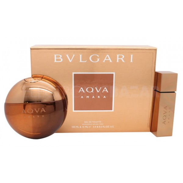 Bulgari Aqua Amara 100ml EDT Spray / 15ml EDT Spray