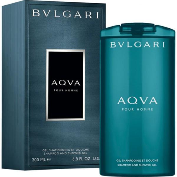 Bulgari Aqua Pour Homme 200ml Shampoo and Shower Gel