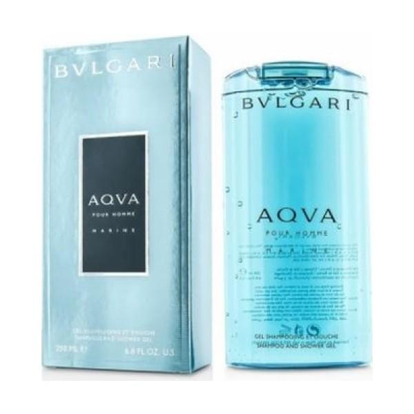 Bulgari Aqua Pour Homme Marine 200ml Shampoo and Shower Gel
