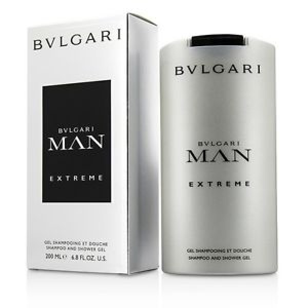 Bulgari Man Extreme 200ml Shampoo and Shower Gel