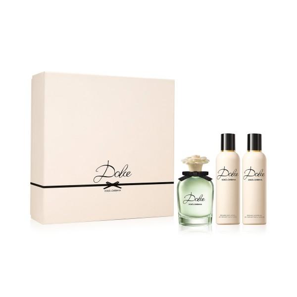 Dolce and Gabbana Dolce 75ml EDP Spray / 100ml Body Lotion / 100ml Shower Gel